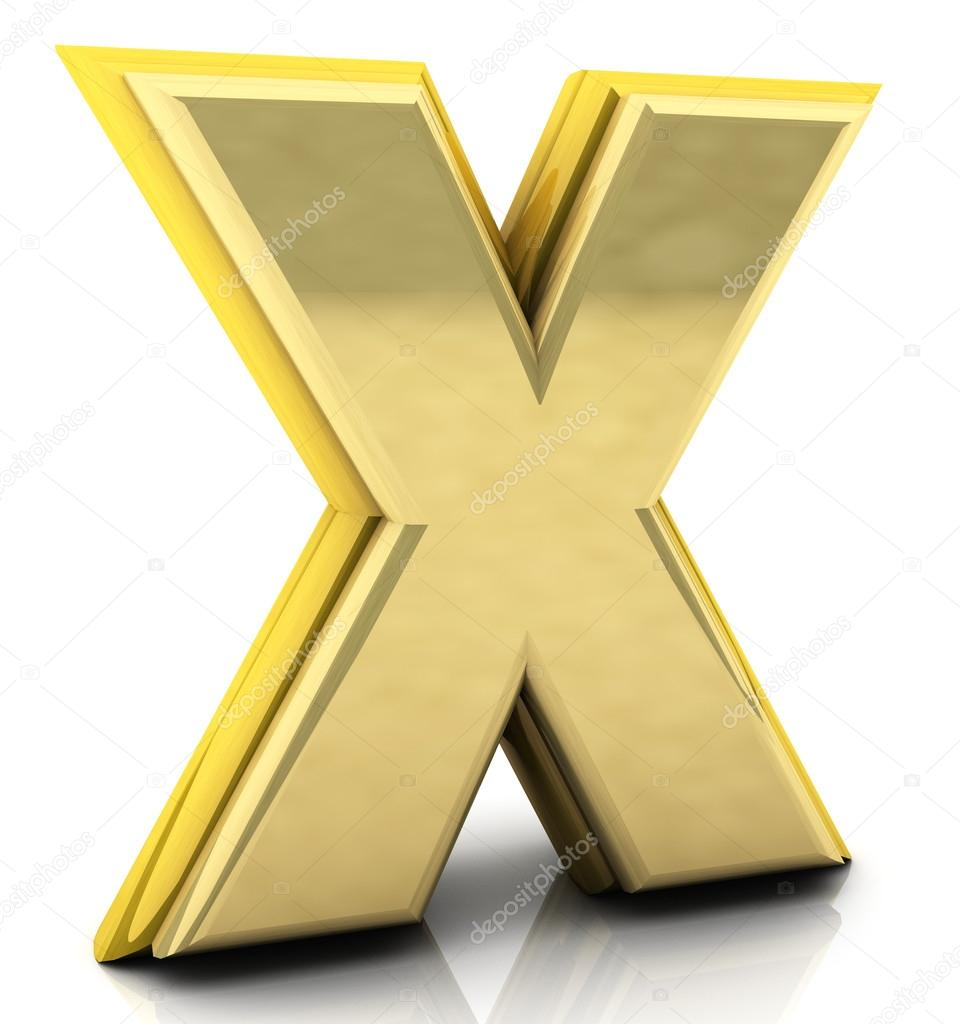 3d rendering of the letter x stock photo 169 changered 21388965