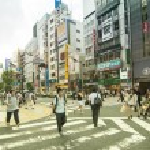 Street Shinjuku district in Tokyo — Stock Photo
