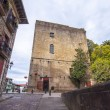 Castle of Charles V in Hondarribia in Pais Vasco, Spian - Stock Photo