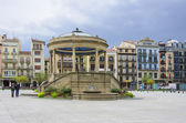 Castle Square in Pamplona,Spain — Stock Photo