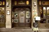 Cafe Iruña in Pamplona,Spain — Stock Photo