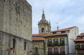 Hondarribia v gipuzkoa, španělsko — Stock fotografie