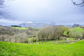 Landscape of mountains in Navarre — Stock Photo