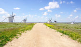 Windmills in Campo de Criptana — Stock Photo