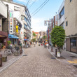 Neighborhood Yanaka,Tokyo — Stock Photo