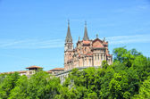 Covadonga church — Stock Photo
