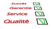3d succes questionnaire — Stock Photo