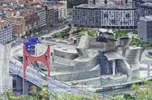 Bilbao guggenheim müzesi — Stok fotoğraf