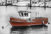 Balıkçı teknesi — Stok fotoğraf
