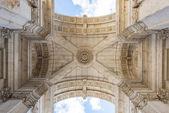 リスボン、ポルトガルをアーチします。 — ストック写真