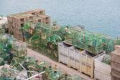 Fishing traps — Stock Photo