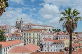 Panoramic view of Lisbon — Stockfoto