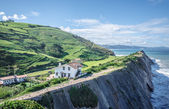 Cliffs in Zumaia, Spain — Photo