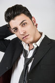 Jonge mode man — Stockfoto