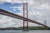 Bridge april 25, Lisbon — Stock Photo