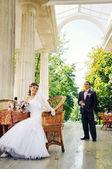 年轻夫妇 — 图库照片