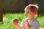 Retrato de una niña — Foto de Stock