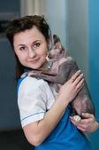 ветеринарная клиника — Стоковое фото