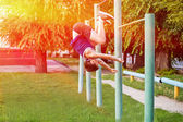 Street workout — Stock Photo
