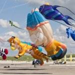 Kite Festval in St. Peter-Ording, Germany — Stock Photo #12206169