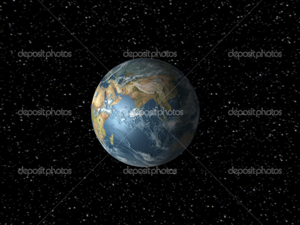 Earth Illustration  Stock Photo #13416561