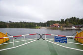 Ferry in Sweden — Stock Photo