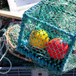 Stock Photo: Lobster Traps