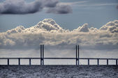 Oeresund Bridge — Stock Photo