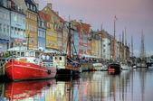 Nyhavn Copenhagen — Stock Photo