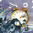 Stock Photo: Surrealistic Time