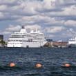 Cruiser in Copenhagen — Stock Photo