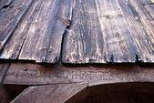 Timber facade — Stock Photo