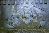 Tumba de un marinero — Foto de Stock