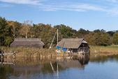 釣り小屋 — ストック写真