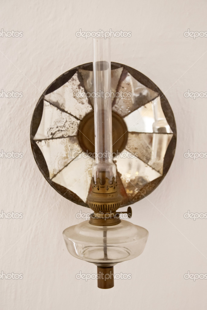 Detail of an oil lamp — Stock Photo #14076966