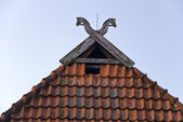 Roof Gable — Stock Photo