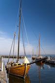 Zeesboot - Fishing boat — Stock Photo