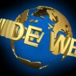 World Wide Web — Vídeo de stock #18616239
