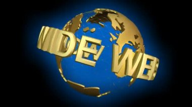 World Wide Web — Stock Video