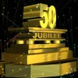 Stock Video: 50 year Jubilee (in German)