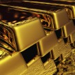 Digital Gold Bullions — Stock Photo