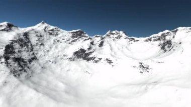 Animazione di volo montagna — Video Stock