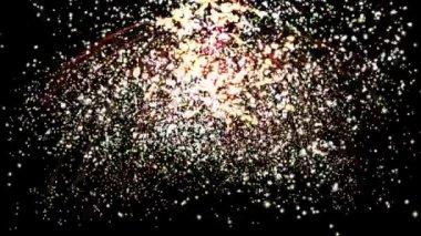 Fireworks Animation — Stock Video