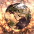 Rotating Earth Animation — Stock Video