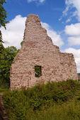 Ruína medieval de um castelo — Foto Stock