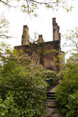 Medieval Ruin of Castle Ramstein — Stock Photo