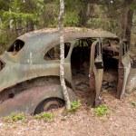 Car Dump in Kirkoe Mosse — Stock Photo #29722195
