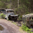 Car Dump in Kirkoe Mosse — Stock Photo
