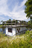 House Boat — Stock Photo