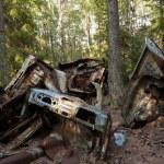 Car Dump in Kirkoe Mosse — Stock Photo #29738417